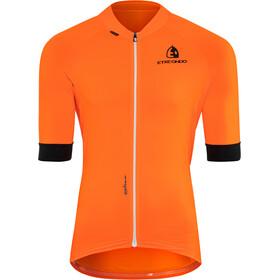Etxeondo Entzun Jersey korte mouwen Heren, orange